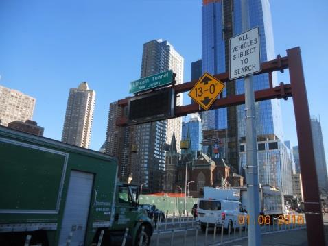 Lincoln Tunnel Overheight Vehicle Detection System