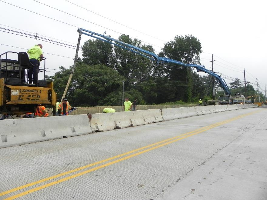 Cokesbury Road (CR 639) over I-78 Bridge Deck Replacement